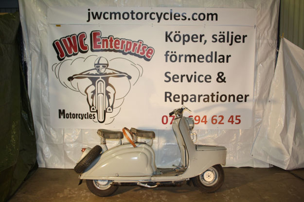 """Picture of Peugeot scooter S55  1955,    """" SOLD """""""
