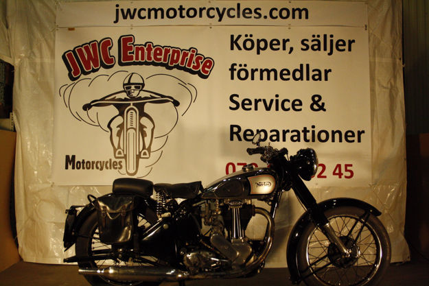 """Picture of Norton Modell 18  500cc  1947  """"SOLD"""""""