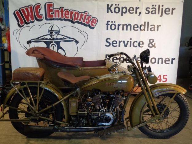 """Picture of Harley Davidson 1200cc 1928  Förmedlingsuppdrag  """" Sold """""""