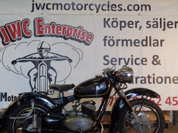 """Picture of Adler 250cc  1954  """" SOLD """""""