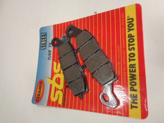 Picture of SBS Brake pads/bromsbelägg 704HF FRONT/23-704.S Ceramic Street