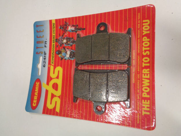 Picture of SBS Brake pads/bromsbelägg 624HF FRONT/624.S Ceramic Street