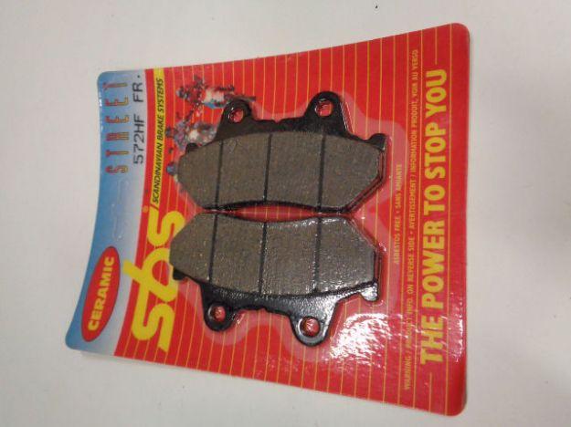Picture of SBS Brake pads/bromsbelägg 572HF FRONT/572.S Ceramic Street