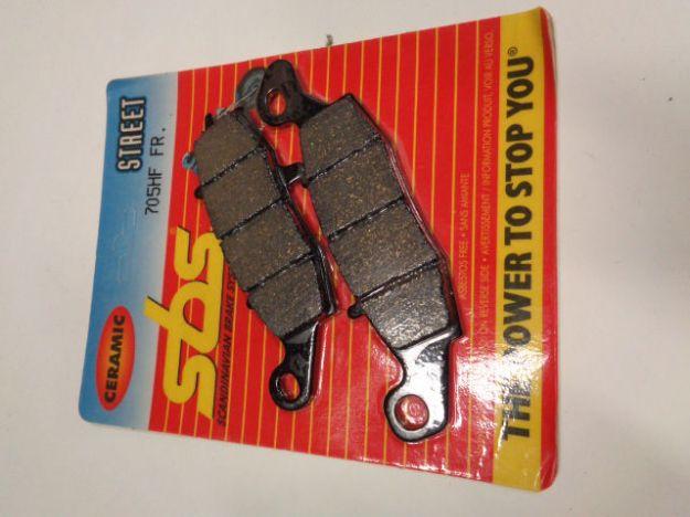 Picture of SBS Brake pads/bromsbelägg 705HF FRONT/23-705.S Ceramic Street