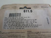 Picture of SBS Brake pads/bromsbelägg 611HF FRONT/23-611.S Ceramic