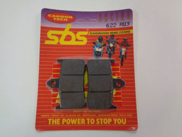 Picture of SBS Brake pads/bromsbelägg 622RQ3/622RQ.S Carbon tech Racing