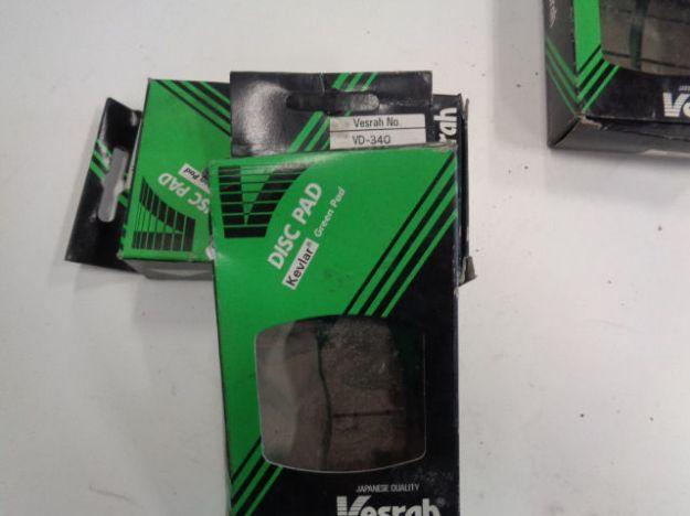 Picture of Vesrah Break Pads/Bromsbelägg VD-340 Green Organic Kevlar